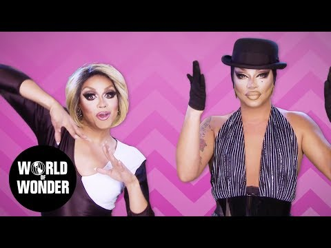 FASHION PHOTO RUVIEW: All Stars 3 Premiere RuPaul's Drag Race with Mariah & Raven