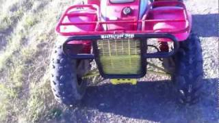 10. POLARIS TRAIL BOSS 350 TEST DRIVE AND WALK AROUND