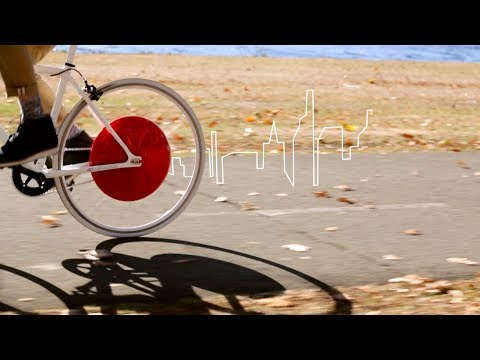 MIT-designed Copenhagen Wheel revolutionizes cycling.