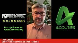 Fran Chuan Conferencista Internacional- España