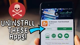 Hey Guys! In this video i will show you 6 DANGEROUS POPULAR ANDROID APPS WHICH YOU SHOULD UNINSTALL FROM YOUR PHONE! **SPONSORED APPS/LINKS**iMyFone Umate Pro:https://goo.gl/mmosB5 https://www.facebook.com/imyfone/ Are we friends on Facebook? - https://fb.me/NamanChhabraYT (I am always active, almost)Follow me on Instagram: http://instagram.com/NamanChhabra_ (For some Instagram exclusive giveaways!)Follow me on Twitter: http://twitter.com/pingNaman (I don't use it that much)----------------------------------------------------(C)2017  Naman Chhabra
