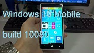 Hands-on da nova build do Windows 10 liberada pela Microsoft.Build 10080.