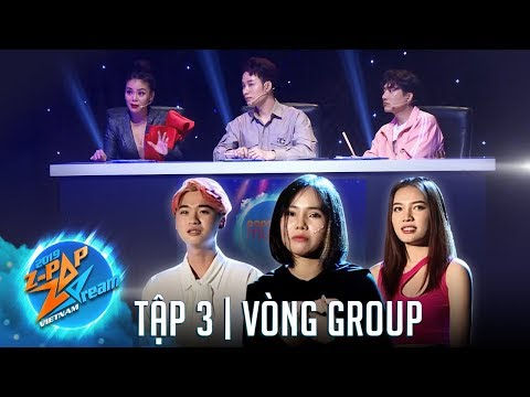 TАp 3  Vцng Group  Z-POP Dream Vietnam Audition Mцa 2 - ChАm TАi фАc Mф