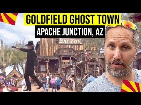 Goldfield Ghost Town, Apache Junction, Arizona: Fun Things To Do In Arizona | Phoenix