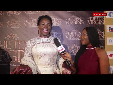 "Full Highlights Of ""The Ten Virgins"" Movie Premiere By Blessing Egbe"