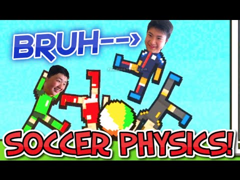 ANIME POWERS!!! | Soccer Physics w/ Andy (The Sucker)