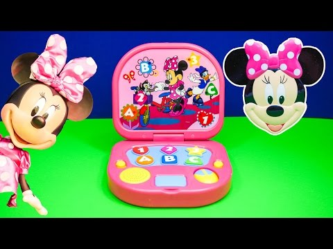 minnie - Disney Mickey Mouse Clubhouse Minnie Mouse Learning Laptop! See all of our Surprise videos http://www.youtube.com/playlist?list=PLoLQ9unpi4OEEM3rUVjLGa0pUaXQvW3Wd Please Subscribe ...