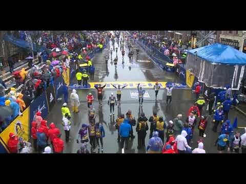 Boston Marathon finish around 3:30pm 2018
