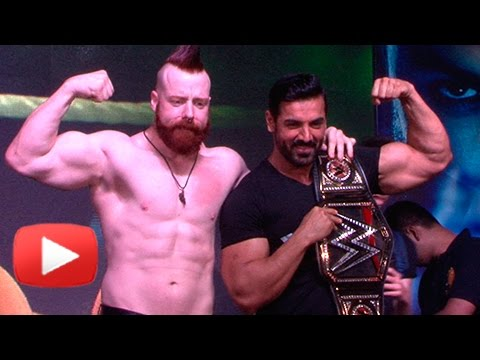 John Abraham vs SHEAMUS WWE Star Lock Horns | Forc