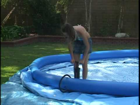 Easy Set Pool - Setting Up Your Intex Easy Set Pool