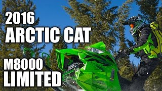 1. TEST RIDE: 2016 Arctic Cat M8000 SnoPro 153 Limited