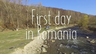 Eccentric creepy boondocking experience and later entering charming Romania