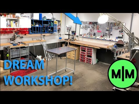 Builing the Dream Workshop! (Workshop Build and Tour)