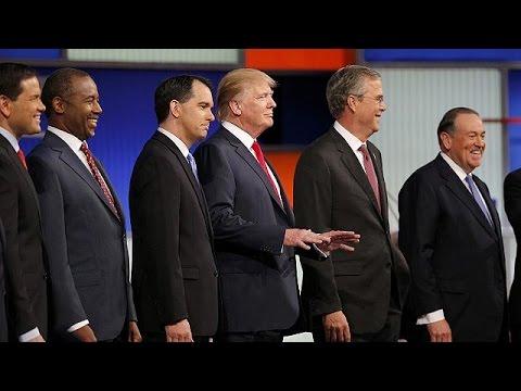 ΗΠΑ: Ο Ντόναλντ Τραμπ κυρίαρχος στο ρεπουμπλικανικό ντιμπέιτ