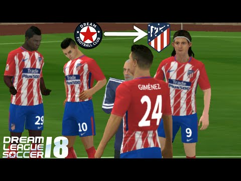 How To Import Atlético Madrid Logo And Kits In Dream League Soccer 2018