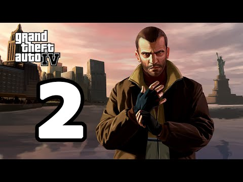 Grand Theft Auto IV Walkthrough Part 2 - No Commentary Playthrough (PC)