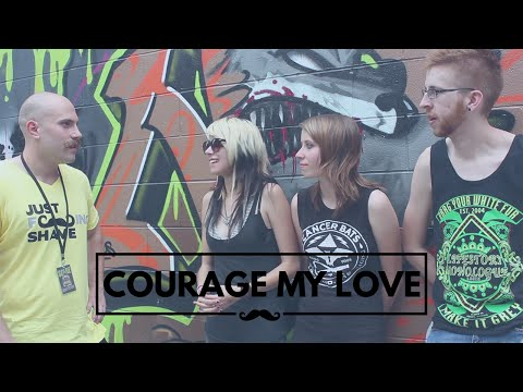 ilovecouragemylove - I caught up with Courage my love at Scene Fest this year to hear what their favorite Mustaches were. They though they were in for a boring regular interview,...
