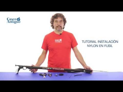 CARRETE FUSIL GUN 30 M
