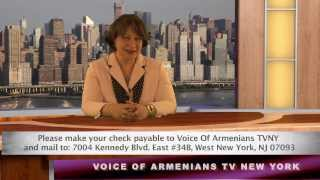 Special program dedicated to the 3rd Anniversary of Voice of Armenians TVNY