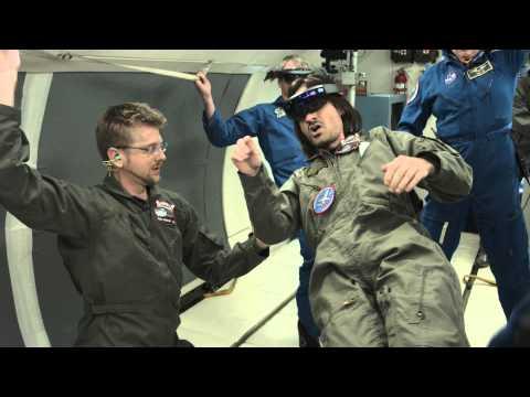 Hololens от Microsoft's протестируют на Международной Космической Станции