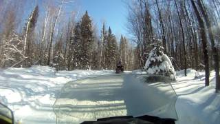 4. Randy's test drive on 2016 Skidoo Blizzard 1200 4-stroke