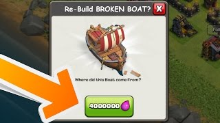 Video 10 NEW UPCOMING FEATURES AND USES OF THE BOAT!   CLASH OF CLANS MAY 2017 POSSIBLE UPDATE LEAKS!! MP3, 3GP, MP4, WEBM, AVI, FLV Juli 2017