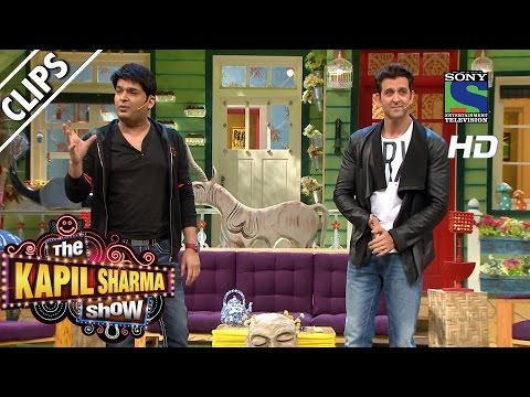 Kapil Welcomes Hrithik Roshan To The Show - The Kapil Sharma Show -Episode 32- 7th August 2016