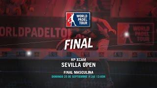 DIRECTO - Final Masculina HP XCam Sevilla 2016 | World Padel Tour