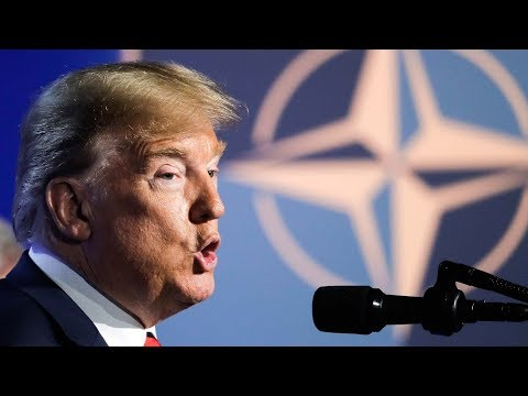 Trump claims NATO victory as Trudeau sidesteps spending questions
