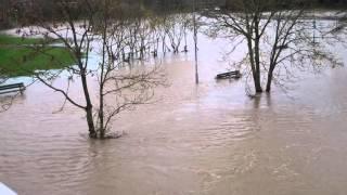 Tamworth United Kingdom  city pictures gallery : Flood in Tamworth UK