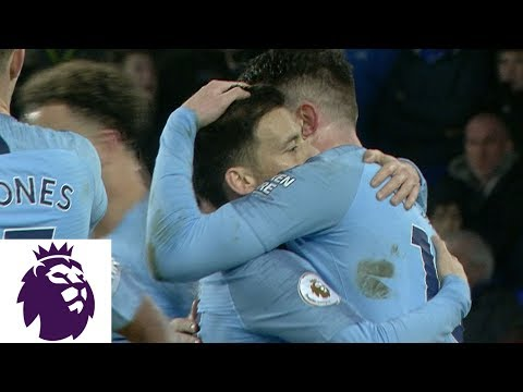 Video: Man City pulls in front of Everton with Aymeric Laporte header   Premier League   NBC Sports