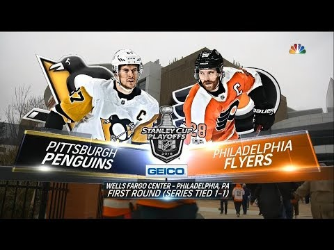 2018 Stanley Cup Playoffs, Eastern Conference: 1st Round, Game 3 - Penguins @ Flyers (4/15/2018)