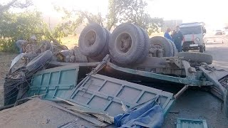 Аварии грузовиков в августе 2016