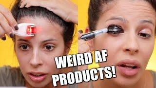 Video Testing Weird Beauty Products 2017 MP3, 3GP, MP4, WEBM, AVI, FLV Oktober 2018