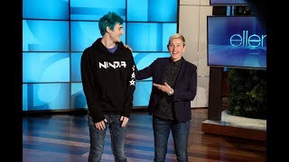 Video Extended Cut: Ellen and Tyler 'Ninja' Blevins Play 'Fortnite' MP3, 3GP, MP4, WEBM, AVI, FLV Oktober 2018