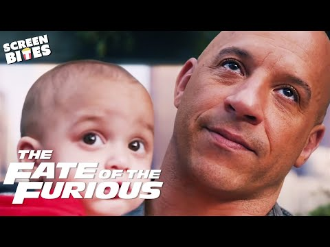 Baby Rescue | The Shaw Family Saves Dom's Son's Life | The Fate Of The Furious | SceneScreen