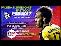Pro Evolution Soccer 2017 Trial Edition Gameplay Espa o
