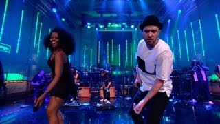 Justin Timberlake covers the Jacksons' Shake Your Body (Down To The Ground) in the Live Lounge