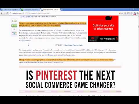 Pinterest The New Social Media Contender?
