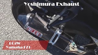 Download Video Top 9 Full Exhaust Sound Yamaha FZ1 / Akrapovic, LeoVince, Mivv, Hurric, Arrow, Yoshimura MP3 3GP MP4