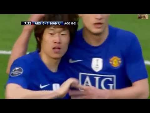Arsenal FC Vs Manchester United 1 3 Highlights UCL Semi Final 2008 - 2009 HD 720p 50 FPS