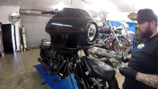 10. Cutthroat Industries 2014 Harley Dyna Low Rider Build FXRD Faring @ Mainstreet Motorcycles