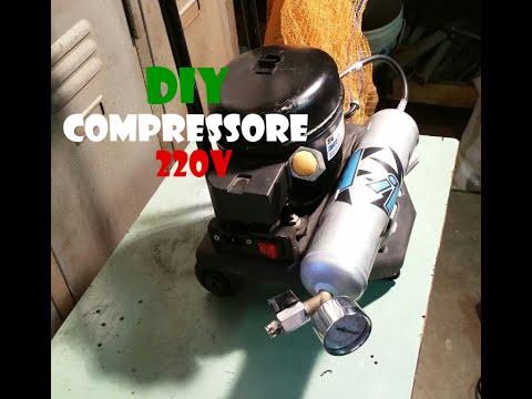FAI DA TE - Compressore 220V (DIY - Air compressor 220V)