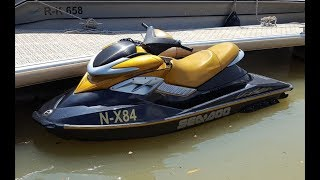 2. Seadoo RXP 215 review TOP Speed !!! Jetski test on Danube Donau