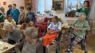 Náhled - Žáci ZŠ Úsov navštívili Domov pro seniory na Lidické