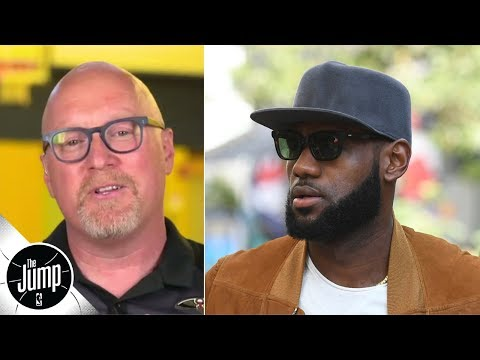 Video: The LeBron James media reaction proves a point I was trying to make - David Griffin | The Jump