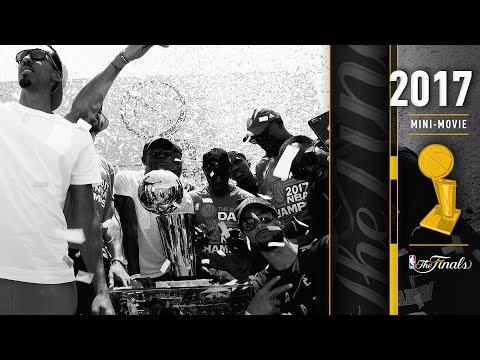 2017 NBA Finals FULL Mini-Movie | Warriors Defeat Cavaliers In 5 Games, 4-1 (видео)