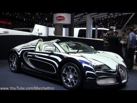 bugatti veyron grand sport l or blanc live impressions. Black Bedroom Furniture Sets. Home Design Ideas