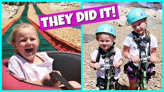 Don't forget to subscribe! http://www.youtube.com/theweisslifeIn today's family vlog - It's our last day in South Lake Tahoe and we went up the gondola to the top of the mountain for some fun zip lining and summer sledding!. The girls also got to do a fun obstacle course before lunch!*Follow us on Instagram, Facebook and Twitter to stay up to date on our family and the new baby!Instagram: http://www.instagram.com/theweissfamFacebook: http://www.facebook.com/theweisslifeTwitter: http://twitter.com/TheWeissLifeMusical.ly: The Weiss LifeVideo filmed with: Canon PowerShot G7 X Mark II http://amzn.to/2iPmFMO (Affiliate link)Support us on Patreon: https://www.patreon.com/theweisslifeSend Us Mail!The Weiss Life69 Lincoln Blvd. Suite-A #267Lincoln, CA 95648THE WEISS LIFE is a fun family vlog channel that features the Weiss family! We do fun Challenges, Giveaways, Family Vlogs, Mommy, Pregnancy and Baby Vlogs, Build A Bear, Toys, Holidays like Halloween, Christmas & Easter, Birthday Parties, Gymnastics, Sidewalk Super Girls Superhero Skits, Costume Fashion Shows, videos from our Travel Adventures and other Family Fun!Production Music courtesy of  www.epidemicsound.com