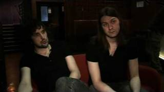 Kasabian interview - Tom Meighan and Sergio Pizzorno (part 1)